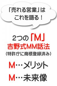 吉野営業トークメリット未来像MM